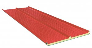 Roof Sandwich panels with PU core G3. 120mm