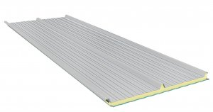 Roof Sandwich panels with PU core G3. 40mm